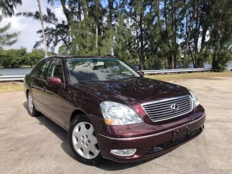 2001 Lexus LS 430 for sale at Exclusive Impex Inc in Davie FL