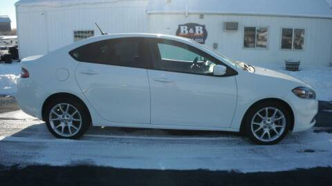 2013 Dodge Dart for sale at B & B Sales 1 in Decorah IA