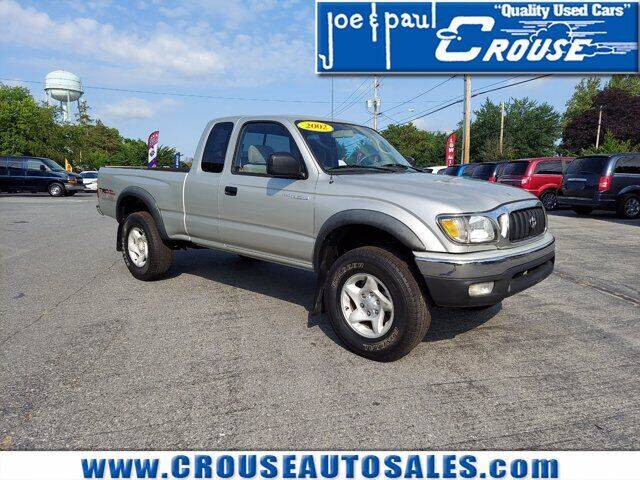 2002 Toyota Tacoma for sale at Joe and Paul Crouse Inc. in Columbia PA