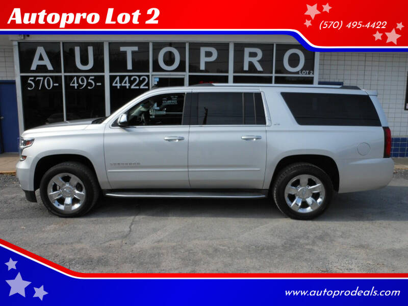 2015 Chevrolet Suburban for sale at Autopro Lot 2 in Sunbury PA