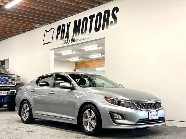 2014 Kia Optima Hybrid for sale in Portland, OR