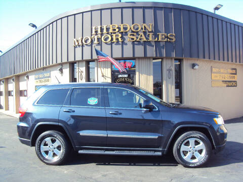 2013 Jeep Grand Cherokee for sale at Hibdon Motor Sales in Clinton Township MI