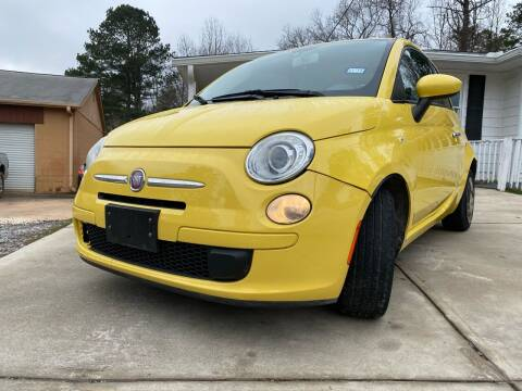 2012 FIAT 500 for sale at Efficiency Auto Buyers in Milton GA