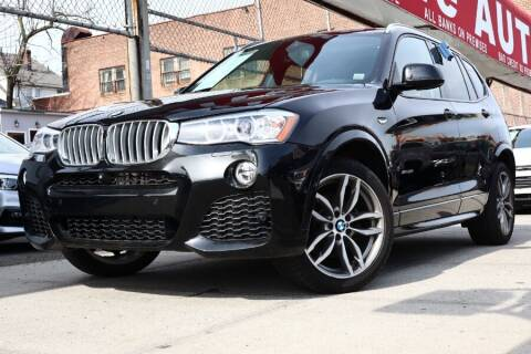 2017 BMW X3 for sale at HILLSIDE AUTO MALL INC in Jamaica NY