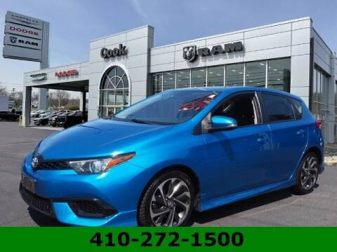 2017 Toyota Corolla iM for sale at Ron's Automotive in Manchester MD