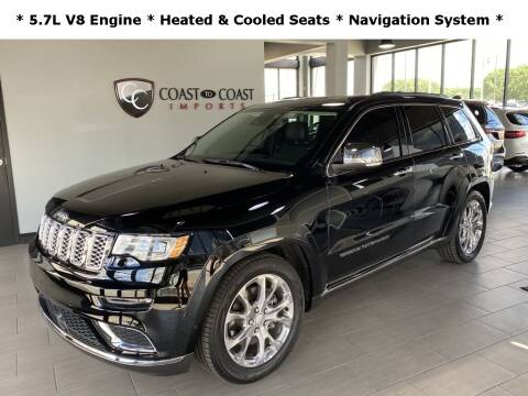 2020 Jeep Grand Cherokee for sale at Coast to Coast Imports in Fishers IN