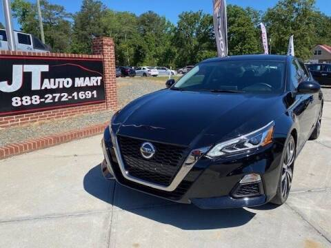 2020 Nissan Altima for sale at J T Auto Group in Sanford NC