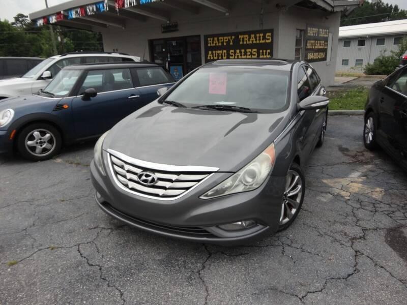 2011 Hyundai Sonata for sale at HAPPY TRAILS AUTO SALES LLC in Taylors SC