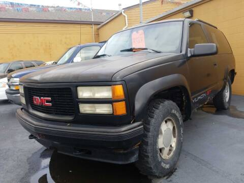 1994 GMC Yukon for sale at American Auto Group LLC in Saginaw MI