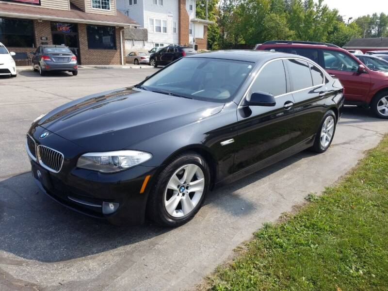 2012 BMW 5 Series for sale at Indiana Auto Sales Inc in Bloomington IN