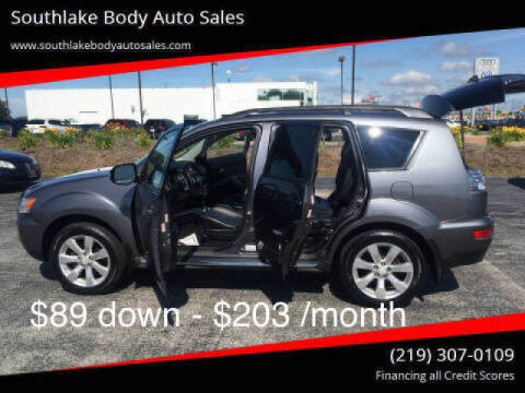 2010 Mitsubishi Outlander for sale at Southlake Body Auto Sales in Merrillville IN