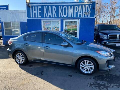 2012 Mazda MAZDA3 for sale at The Kar Kompany Inc. in Denver CO