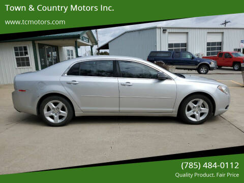 2010 Chevrolet Malibu for sale at Town & Country Motors Inc. in Meriden KS