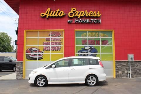 2010 Mazda MAZDA5 for sale at AUTO EXPRESS OF HAMILTON LLC in Hamilton OH