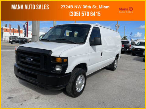 2012 Ford E-Series Cargo for sale at MANA AUTO SALES in Miami FL