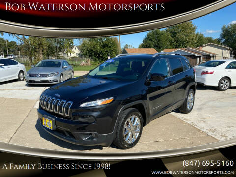 2016 Jeep Cherokee for sale at Bob Waterson Motorsports in South Elgin IL