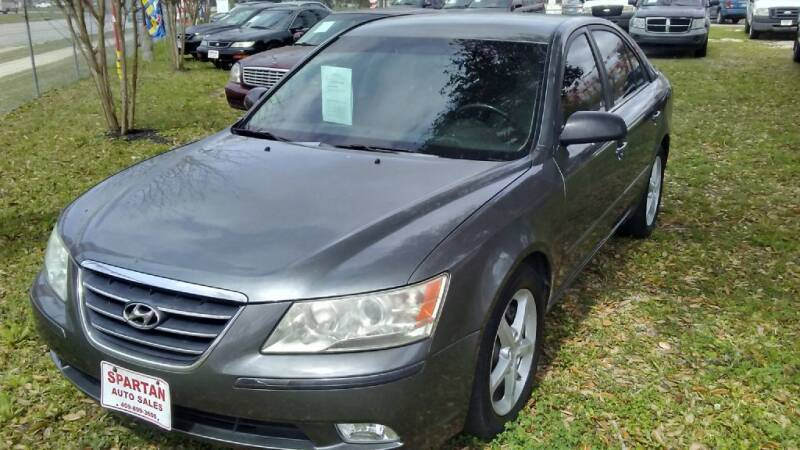 2009 Hyundai Sonata for sale at Spartan Auto Sales in Beaumont TX
