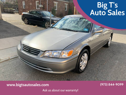 2000 Toyota Camry for sale at Big T's Auto Sales in Belleville NJ