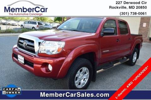 2007 Toyota Tacoma for sale at MemberCar in Rockville MD
