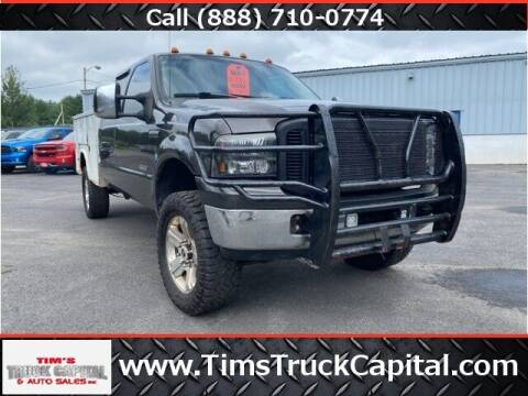 2005 Ford F-350 Super Duty for sale at TTC AUTO OUTLET/TIM'S TRUCK CAPITAL & AUTO SALES INC ANNEX in Epsom NH