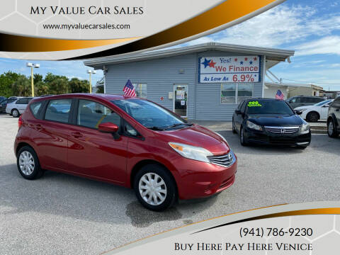 2015 Nissan Versa Note for sale at My Value Car Sales in Venice FL