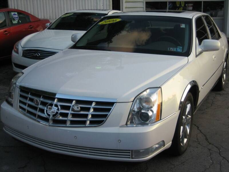2006 Cadillac DTS for sale at B. Fields Motors, INC in Pittsburgh PA