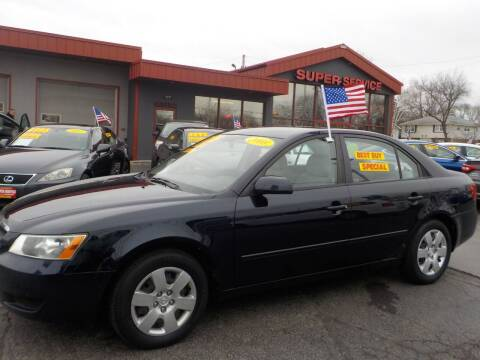 2008 Hyundai Sonata for sale at Super Service Used Cars in Milwaukee WI