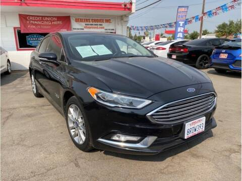 2017 Ford Fusion Energi for sale at Dealers Choice Inc in Farmersville CA