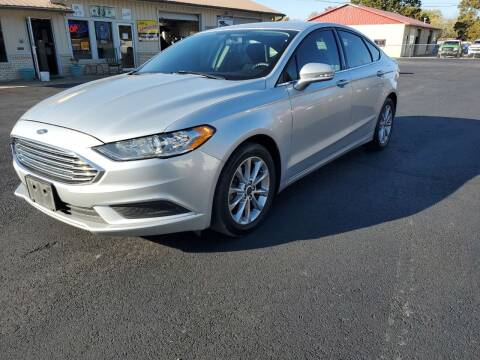 2017 Ford Fusion for sale at Bailey Family Auto Sales in Lincoln AR