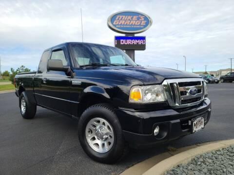 2011 Ford Ranger for sale at Monkey Motors in Faribault MN