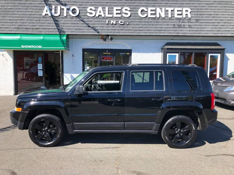 2015 Jeep Patriot for sale at Auto Sales Center Inc in Holyoke MA