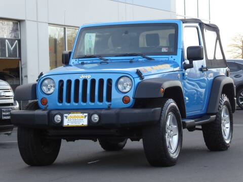 2010 Jeep Wrangler for sale at Loudoun Motor Cars in Chantilly VA