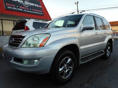 2009 Lexus GX 470 for sale at Super Sports & Imports in Jonesville NC