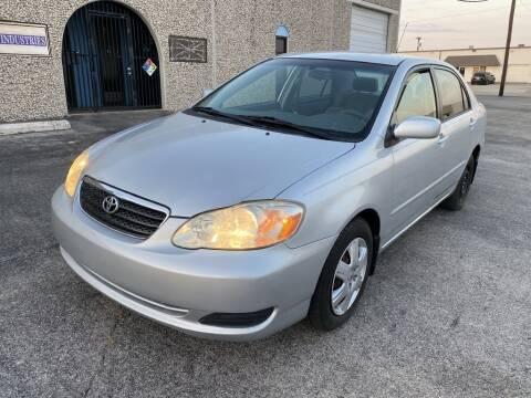 2005 Toyota Corolla for sale at Evolution Motors LLC in Dallas TX