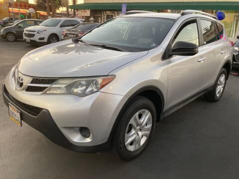 2014 Toyota RAV4 for sale at La Mesa Auto Sales in Huntington Park CA