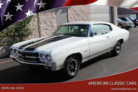 1970 Chevrolet Chevelle for sale at American Classic Cars in La Verne CA
