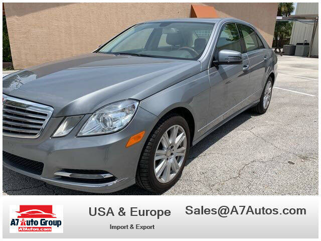 2013 Mercedes-Benz E-Class for sale at A7 AUTO SALES in Holly Hill FL