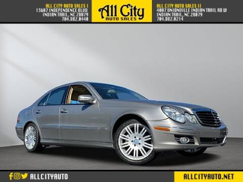 2008 Mercedes-Benz E-Class for sale at All City Auto Sales II in Indian Trail NC