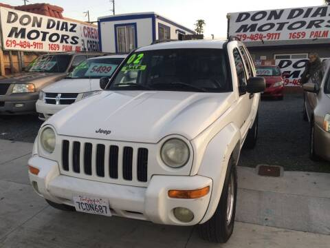 2002 Jeep Liberty for sale at DON DIAZ MOTORS in San Diego CA