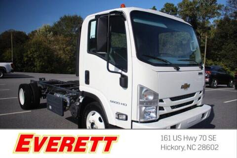 2020 Chevrolet 5500HD LCF Diesel for sale at Everett Chevrolet Buick GMC in Hickory NC