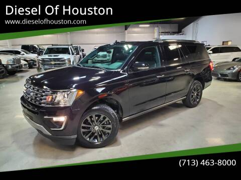 2020 Ford Expedition MAX for sale at Diesel Of Houston in Houston TX