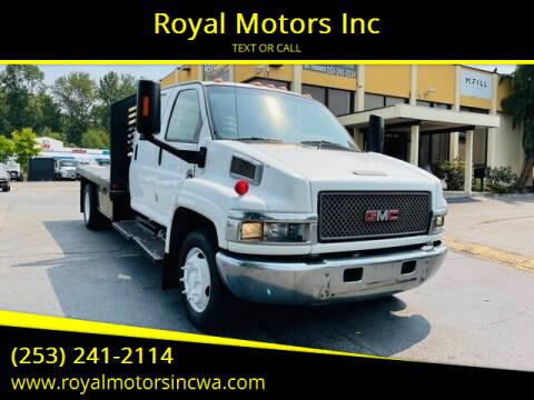 2007 GMC C4500 for sale at Royal Motors Inc in Kent WA