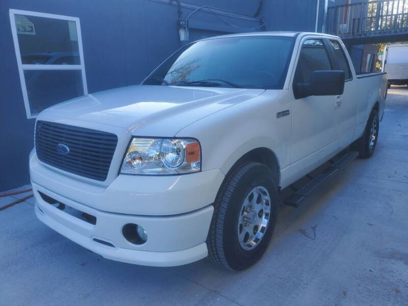 2007 Ford F-150 for sale at REDLINE MOTORGROUP INC in Jacksonville FL