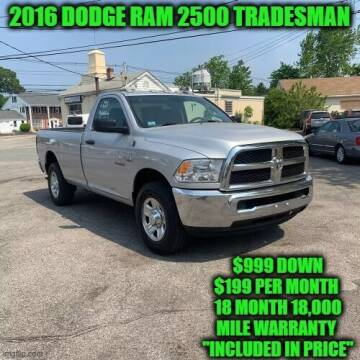2016 RAM Ram Pickup 2500 for sale at D&D Auto Sales, LLC in Rowley MA