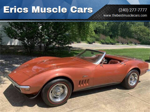 1968 Chevrolet Corvette for sale at Erics Muscle Cars in Clarksburg MD