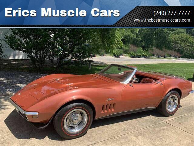 1968 Chevrolet Corvette for sale at Erics Muscle Cars in Clarksburg MD