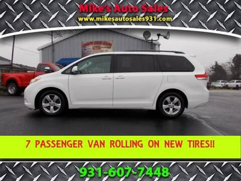 2011 Toyota Sienna for sale at Mike's Auto Sales in Shelbyville TN