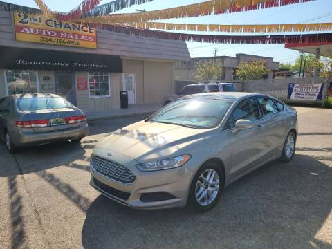2016 Ford Fusion for sale at 2nd Chance Auto Sales in Montgomery AL