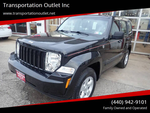 2012 Jeep Liberty for sale at Transportation Outlet Inc in Eastlake OH