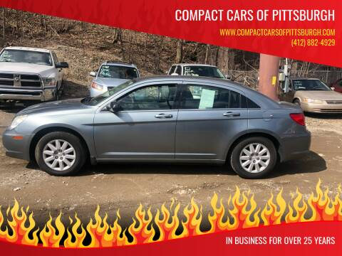 2009 Chrysler Sebring for sale at Compact Cars of Pittsburgh in Pittsburgh PA